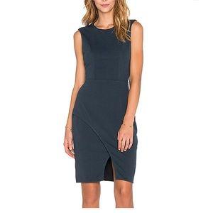 Bobbi Black Knit Boucle Dress - Revolve